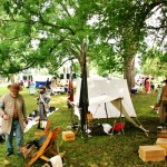 Independence Day Civil War Encampment HPR  7-4-2013