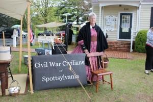 HPR Events Booth Weekend 4-2015 Spotsylvania Civilians (600x400)
