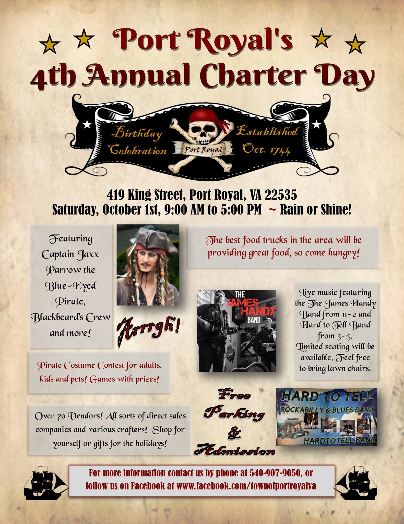 EVENTS Historic Port Royal - Pirate museums in the us