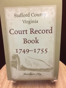 Stafford County Court Record