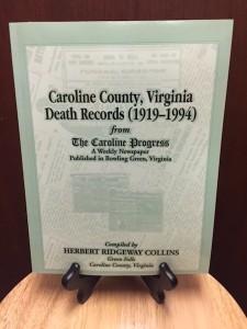 Caroline County Death Records