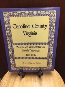 Caroline County Vital Statistics